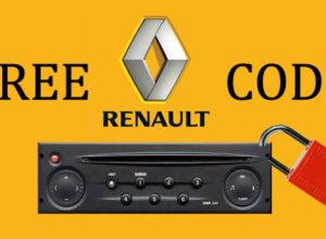 Méthode pour trouver le Code autoradio Renault