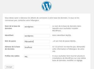 Création de site internet avec le CMS WordPress