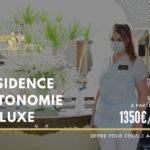 Maison de retraite médicalisée vue mer en Tunisie