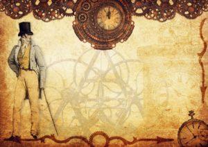 steampunk montre