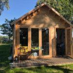 Chalet en bois : une maisonnette sur mesure et en kit !